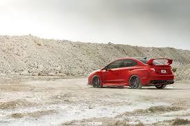 Red Herring Subaru Wrx Sti Adv 1 Fish Adv 1 Wheels