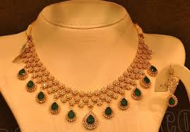 malabar diamond earrings diamond necklace by malabar gold and diamonds jewellery designs