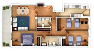 Home Design Floor Plans by 25 Three Bedroom House Apartment Floor Plans