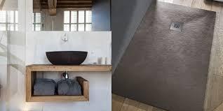 piatto doccia pietra effetto pietra per il bagno di tendenza