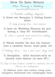 planning your own wedding how to save money when planning a wedding for pennies