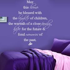 details about may this home blessed quote wall sticker vinyl getsubject aeproduct