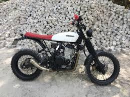 honda dominator honda nx650 scrambler by martin kvarnhult u2013 bikebound