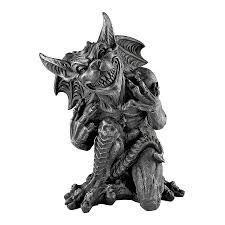 gargoyle home decor shop design toscano resin gargoyle statue at lowes com