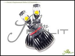 Led Car Lights Bulbs by 95 02 Lincoln Town Car 56w Led White 9007 Hb5 Dual Beam Headlights