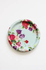 Shabby Chic Plates by 8 Floral Tea Party 7