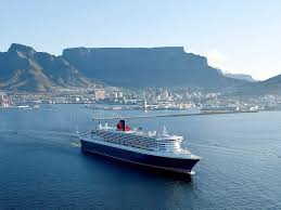 rms queen mary 2 african travel concept