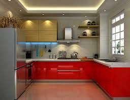 bathroom personable bold red lacquer kitchen cabinet for small