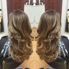 natural long dark ash blonde hair to long bob lob with natural