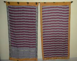 Indian Curtain Fabric Cotton Curtains Etsy