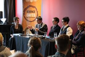 science cafés join the discussion
