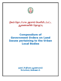 compendium for land slum tamil nadu
