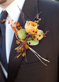 Wedding Boutonnieres 42 Beautiful Fall Wedding Boutonnieres Weddingomania