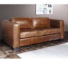 canapé vieux cuir canape vieux cuir canapac en cuir la touche authentique quon adore