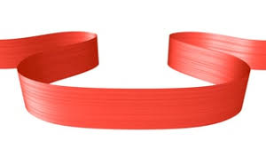 ribbon moving in the shape of loop animated decorative