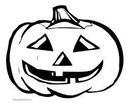 download pumpkin coloring print halloween pumpkin