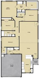 floor plans of homes 4 br 2 ba 1 story floor plan house design for sale san antonio