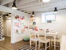 Craft Room For Kids - desks and study zones hgtv