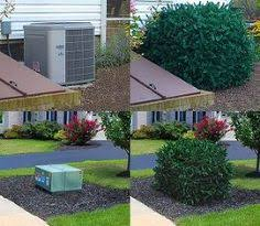 Ideas 4 You Front Lawn Landscaping Ideas To Hide Septic Lids Hide The Ac Unit Or Trash Cans Dress Up A Wooden Enclosure With