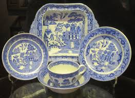grandmother s bone china willow pattern