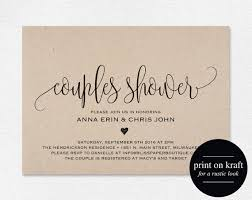 couples shower couples shower invitation design templates