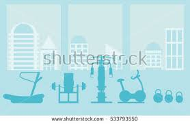 free flat fitness and gym vector icons download free vector art