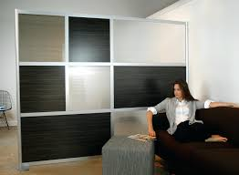 Interior Partition Room Dividers With Storage Full Size Of Living Black White Glass