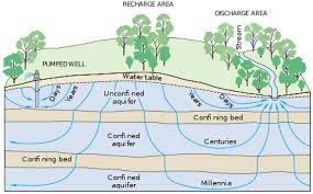 Define Water Table Groundwater Dependent Ecosystems Wikipedia