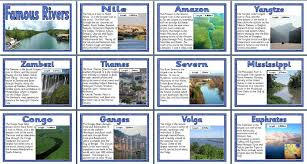 free geography ks2 teaching resource rivers of the world
