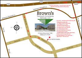 Midland Texas Map Contact Us U2013 Brown U0027s Training And Compliance