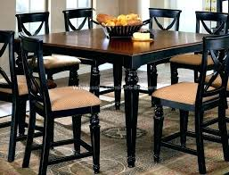 tall white kitchen table black dining room table set tall dining set tall white dining table