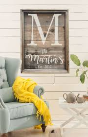 large personalized reclaimed wood sign rustic family sign rustic