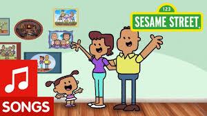 sesame family song