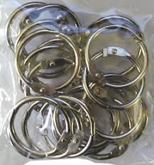 Scrapbook Binder Foil Play Mini Scrapbook Album Hinged Binder Rings Pack Of 20