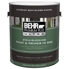 behr premium plus ultra 1 gal ultra pure white semi gloss enamel