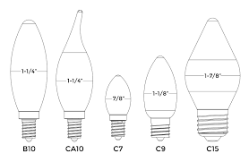 common light bulb types home lighting 101 a guide to understanding light bulb shapes sizes