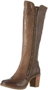 womens knee high boots nz fly fly hock s knee length boots beige taupe