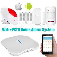 2016 most popular wifi pstn diy wireless home security alarm system