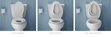 Kohler Quiet Close Toilet Seat Repair Transitions Toilet Seat With Integrated Child Seat Bathroom