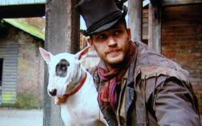 Sikes by In Costume As Sikes With Bullseye Tom Hardy U0026 Dogs A Love Story