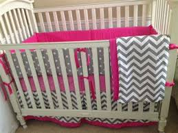 grey chevron baby bedding pink gray chevron baby bedding pink and