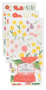 now designs kitchen towels now designs dish towels flowers of the month baker s floursack set 3