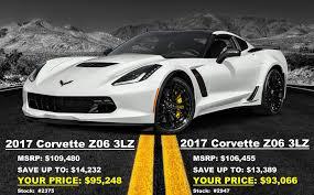 2017 chevrolet corvette z06 msrp new 2017 z06 big discounts corvetteforum chevrolet corvette
