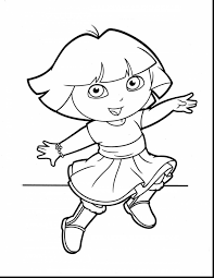 gymnastics coloring pages to print remarkable dora printable coloring pages with dora coloring page