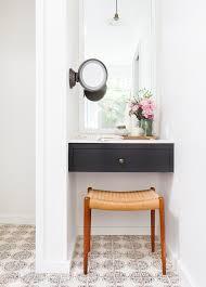 Contemporary Makeup Vanity Baroque Makeup Vanity Table With Lights In Bathroom Contemporary