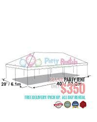 tent rental cost 20x40 party tent rental 1 amazing tent rentals