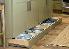 why do cabinets a toe kick why you should install toe kick drawers purewow