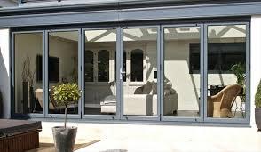 Bifolding Patio Doors Aluminium Bifold Patio Doors Outdoor Goods