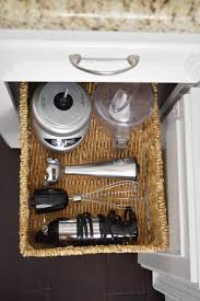 diy pull out basket for the kitchen mounted in minutes once under cabinet pull out basket