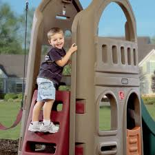 naturally playful playhouse climber u0026 swing extension kids swing